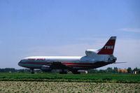 N81025 @ AMS - TWA Lockheed triStar at Schiphol airport. - by Henk van Capelle