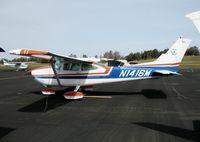 N1416M @ AUN - 1975 Cessna 182P at Auburn Municipal Airport, CA - by Steve Nation