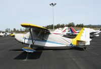N16TP @ AUN - 1972 Bellanca 7KCAB with cover at Auburn Municipal Airport, CA