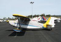 N16TP @ AUN - 1972 Bellanca 7KCAB with cover at Auburn Municipal Airport, CA
