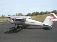 N1181R @ AUN - 1946 Cessna 140 as NC1181R at Auburn Municipal Airport, CA - by Steve Nation