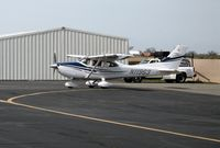 N11963 @ AUN - 2005 Cessna T182T taxying at Auburn Municipal Airport, CA - by Steve Nation