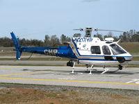 N217HP @ AUN - California Highway Patrol/CHP 2002 Eurocopter AS 350 B3 at Auburn Municipal Airport, CA - by Steve Nation