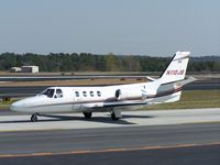N110JB @ PDK - Taxing to Epps Air Service - by Michael Martin