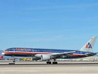 N717TW @ KLAS - American Airlines / 1999 Boeing 757-231 - by SkyNevada