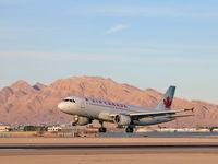 C-FLSF @ KLAS - Air Canada / 1992 Airbus A320-211 - by SkyNevada