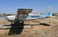 N6615E @ E27 - Cessna 175 at Elk Grove, CA