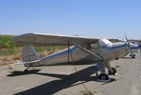 N1420K @ E27 - 1946 Luscombe 8A @ Elk Grove, CA (with the K) - by Steve Nation
