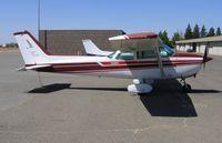N1209F @ RIU - Hayward-based Flying Vikings 1979 Cessna 172N @ Rancho Murieta Airport, CA - by Steve Nation