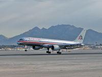 N702TW @ KLAS - American Airlines / 1996 Boeing 757-2Q8 - by SkyNevada - Brad Campbell