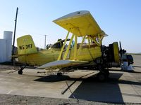 N5397 @ 13CL - Dixon Aviation 1973 Grumman G-164A as sprayer @ Maine-Prairie Airport (Hwy 113), Dixon, CA.  Sustained substantial damage on 2006-03-30 when pilot lost power, gear struck ground and airplane nosed over while attempting to fly under wires on take-off from