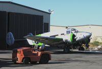N314WN @ SCK - Beech UC-45H Bug Smasher as Marines/EL TORO @ Stockton Metropolitan Airport, San Joaquin County, CA - by Steve Nation