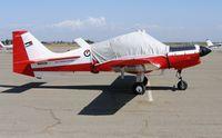 N402JA @ O15 - ex Royal Jordanian AF 1974 Scottish Aviation Bulldog @ Turlock Municipal Airport, CA - by Steve Nation