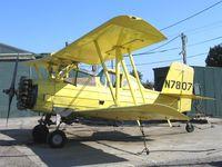 N7807 @ 13CL - Dixon Aviation 1972 Grumman G-164A as sprayer @ Maine-Praire Airport (Hwy 113 S), Dixo, CA