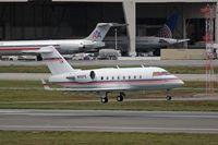 N10FE @ LAX - FedEx 1995 Canadair CL-600-2B16 (Challenger) - N10FE - arriving RWY 7R from Memphis, TN (KMEM). - by Dean Heald