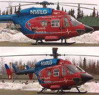 N141LG @ ENA - Lifeguard Alaska - by David LaForest