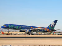 N915AW @ KLAS - America West Airlines - 'Nevada' / Boeing 757-2S7 / Home is Nevada, the plane says the rest!
