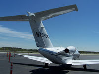 N405CS @ PDK - Tied down @ Mercury Air Center - by Michael Martin