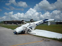 N6976G @ X06 - Cessna after Hurricane passed through Arcadia, Fl. - by Don Browne