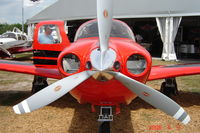 N312TN @ KLAL - Frontal view of the all-new Mooney Acclaim at the '06 Sun 'N Fun - by Alex Melia