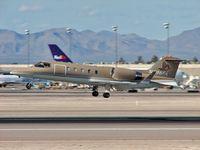 N696PA @ KLAS - Pinnacle Air Group / Bombardier Learjet 31A