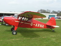 G-ARNK @ EGCL - Piper PA-22 converted as taildragger - by Simon Palmer