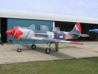 G-CUPS @ EGCL - Yak-52 - by Simon Palmer