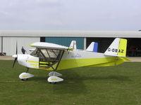 G-OBAZ @ EGCL - SkyRanger 912 at Fenland - by Simon Palmer