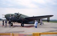 N30N @ FFO - C-60A 42-55884, preparing to fly - by Glenn E. Chatfield