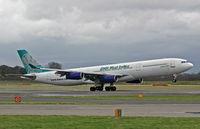 9Y-JIL @ EGCC - Airbus A340 311 - by Les Rickman