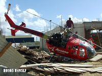 N495LF - BO105 N495LF Air ambulance crash in Ponce,PR - by joy