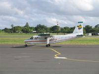 DQ-YIR @ NAN - Pacific Island Air's BN Islander taxiing to the runway - by Micha Lueck