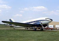 N129H @ IS65 - Skydiving plane - Mr. Douglas at Sandwich, IL - by Glenn E. Chatfield