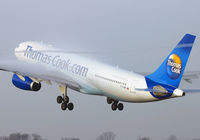 G-OJMB @ EGCC - Leaving in the early morning mist. - by Kevin Murphy
