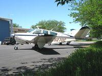 N927DC @ O41 - 1976 Beech V35B Bonanza @ Woodland-Watts Airport, CA - by Steve Nation