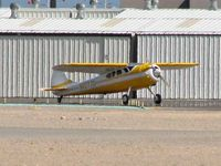 N1077D @ VGT - Privately Owned / 1951 Cessna 195 - by SkyNevada - Brad Campbell