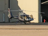 N130FP @ VGT - Privately Owned / 2004 Eurocopter EC 130 B4 / 'Fine, if you're just going to sit there then I'll go knock on the door!