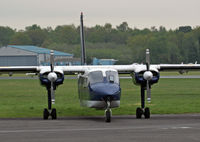 G-NESU @ BOH - BN-2B-20 Islander - by Les Rickman