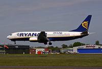 EI-DCD @ BOH - Boeing 737 8AS - by Les Rickman