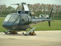 G-JBBZ @ QUG - Eurocopter AS350B Ecureuil - by Gerald Shimbart