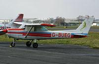 G-BUEG @ BOH - Cessna 152 11 - by Les Rickman
