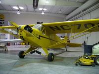 N70870 @ C77 - Piper J-3C - by Mark Pasqualino