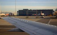G-EZYP @ GLA - Boeing 737 33V - by Les Rickman