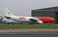 EC-HQT @ BOH - Airbus A300B4 103F - by Les Rickman