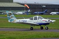 G-BMVL @ BOH - PA-38-112 Tomahawk - by Les Rickman