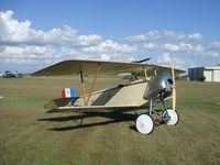N124TD - Plans built Nieuport 11 replica - by
