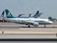 N429MX @ KLAS - Mexicana / 2001 Airbus A319-112