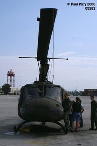 69-15263 @ NCA - Nose on, with the venerable Huey - by Paul Perry
