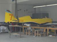 N777XT @ SZP - 2005 Dan Wright NEMESIS NXT TURBO, Lycoming TIO-540, in rebuild, (Reno Sport Class pylon racer #7) - by Doug Robertson