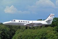D-CIFA @ BOH - Cessna 550 Citation II - by Les Rickman